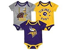 Newborn Minnesota Vikings Champ 3pc. Set