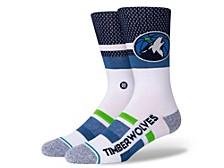 Women's Minnesota Timberwolves Shortcut 2 Crew Socks