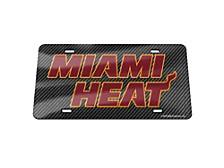 Miami Heat Carbon Laser Tag