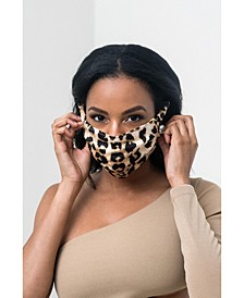 Pretty Girl Face Mask, Leopard