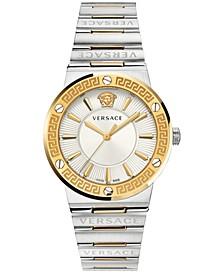 Women's Swiss Two-Tone Stainless Steel Bracelet Watch 38mm