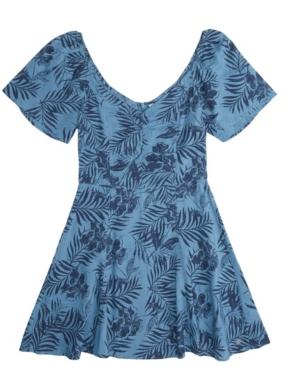 Roxy WOMEN'S SHOULDER SHIMMY DRESS
