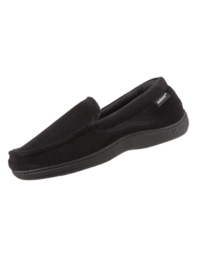 Signature Men's Microterry Jared Moccasin Slippers with Memory Foam