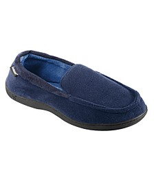 Men's Microterry Jared Moccasin Slippers with Memory Foam