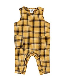 Baby Boys Francis Flannel All in One Romper