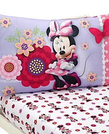 Minnie Mouse Bow Power 2 Piece Sheet Set