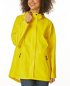Hooded Water-Resistant Anorak Raincoat, Created for Macy's