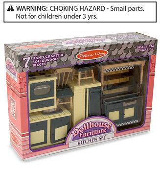 Melissa And Doug Kids 39 Toy Dollhouse Furniture Kitchen Set