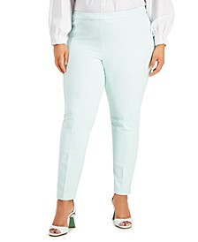 Plus Size Skinny Stretch Pants, Created for Macy's
