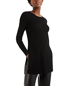Ribbed Tunic Sweater, Created for Macy's