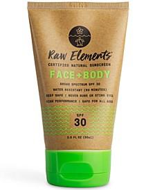 Face + Body Natural Sunscreen SPF 30