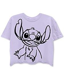 Juniors' Stitch Back Graphic T-Shirt