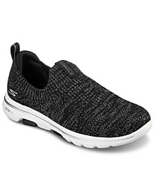 Women's Gowalk 5 - Trendy Slip-On Walking Sneakers from Finish Line
