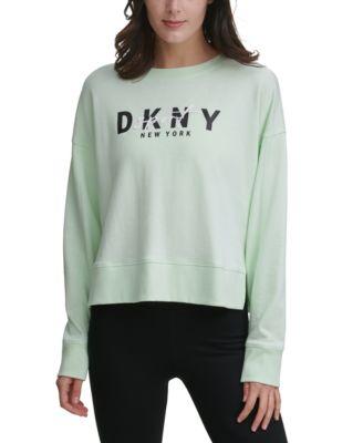 Graphic Script Pullover Sweatshirt