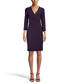 Signature Faux-Wrap Dress