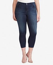 Women's Regular Midrise Skinny Crop Jeans