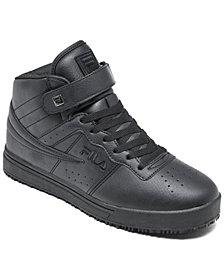 Fila Women's Vulc 13 Wide Width Slip Resistant High Top Work Sneakers from Finish Line