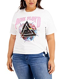 Plus Size Pink Floyd Graphic T-Shirt