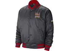 Chicago Bulls Men's City Edition Courtside Sublimated Jacket