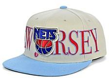 New Jersey Nets Hardwood Classic Winners Circle Snapback Cap