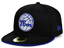 Philadelphia 76ers Black Gray Pop 59FIFTY Cap