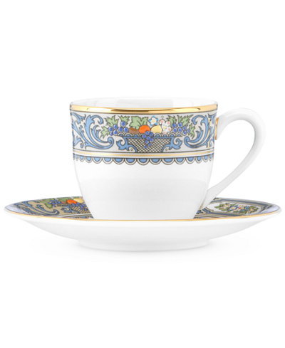 Lenox Autumn Espresso Cup and Saucer Set - Fine China - Macy\'s