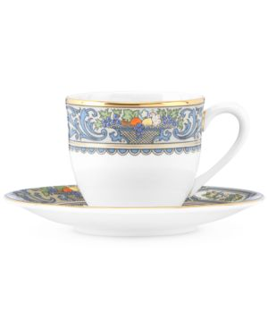 Lenox Autumn Espresso Cup and Saucer Set