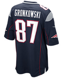 Nike Men's Rob Gronkowski New England Patriots Game Jersey