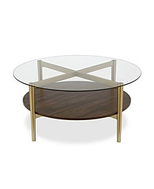 Otto Coffee Table with Shelf