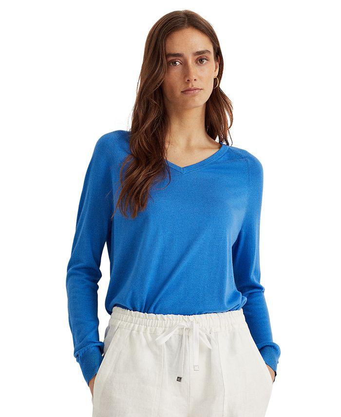 Lauren Ralph Lauren - V-Neck Sweater