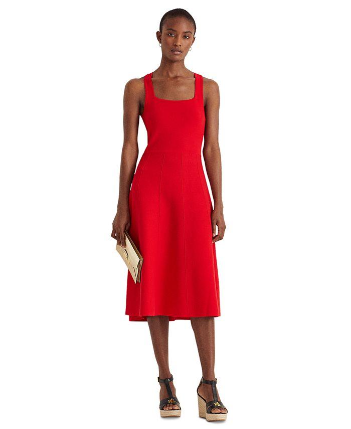 Lauren Ralph Lauren - Sleeveless Fit & Flare Dress
