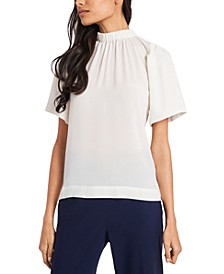 Jayne Mock-Neck Top, Created for Macy's