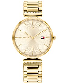 Women's Gold-Tone Bracelet Watch 34mm