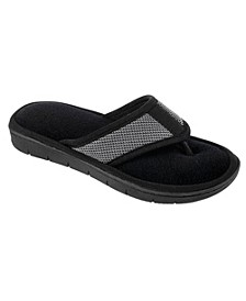 Isotoner Women's Scout Mesh Thong Slippers