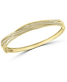 EFFY® Diamond Bangle Bracelet (1-1/20 ct. t.w.) in 14k Gold