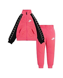 Toddler Girls Swoosh Tricot 2 Piece Jacket and Pant Set