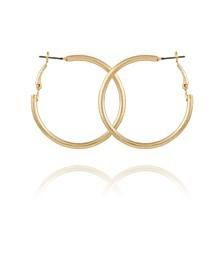 Women's Textured Hoop Earring