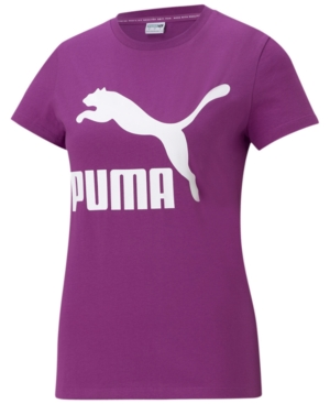 Puma PLUS SIZE COTTON CLASSICS LOGO T-SHIRT