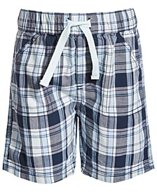 Baby Boys Paco Plaid Cotton Shorts, Created for Macy's