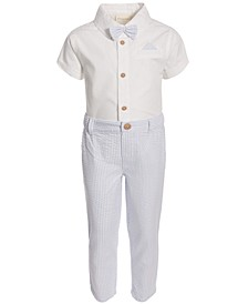 Baby Boys Seersucker Pants & Shirt Set, Created for Macy's