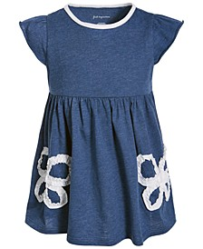 Baby Girls Ruched Butterfly Tunic, Created for Macy's
