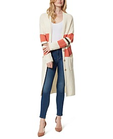 Marina Striped Longline Cardigan