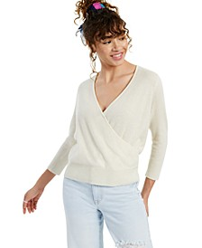 Wrap-Style Cashmere Sweater, Created for Macy's