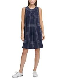 Plaid Trapeze Dress