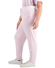 Plus Size  Modern Lounge Drawstring Jogger Pants, Created for Macy's