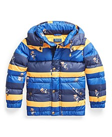 Toddler Boys Water-Resistant Down Coat