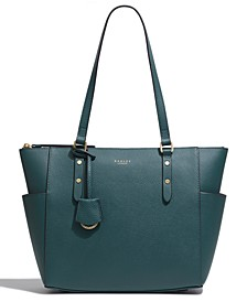 Silk Street Large Zip Top Tote