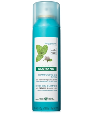 Detox Dry Shampoo With Organic Aquatic Mint
