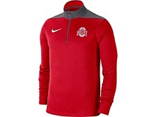 Ohio State Buckeyes Men's Colorblock Fan Fav Dri Quarter Zip Pullover