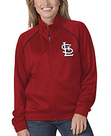 St. Louis Cardinals Women's Power Play Track Jacket